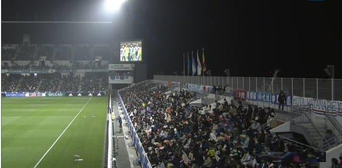 スタジアムのスタンド