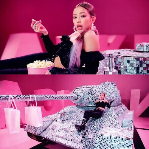 キムと戦車