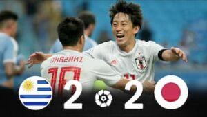 日本代表vsウルグアイ