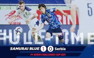 日本対セルビア