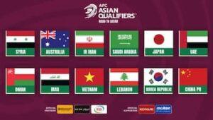 アジア最終予選12強