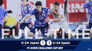 日本対スペイン