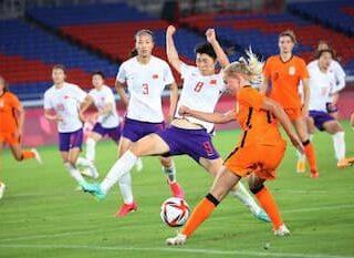 中国対オランダ