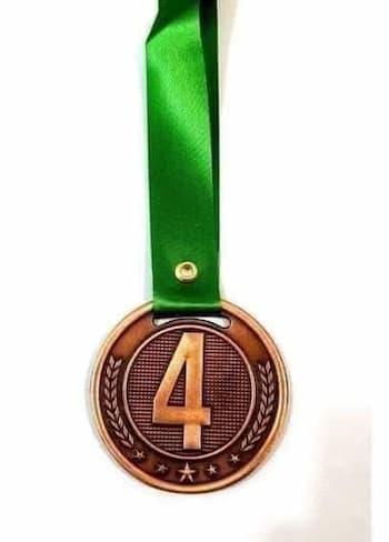 4位メダル