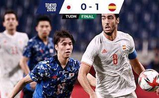 日本代表対スペイン代表