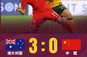 中国対オーストラリア